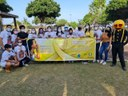 PEM/CMM participa da ação do Setembro Dourado que chama atenção da sociedade para os sintomas do câncer infanto-juvenil