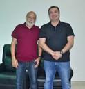Prefeito de Porto Grande faz visita institucional ao presidente da CMM