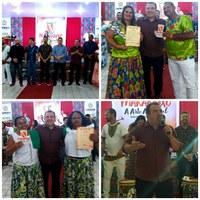 Presidente da Câmara de Vereadores de Macapá participa da abertura do Ciclo do Marabaixo 2019