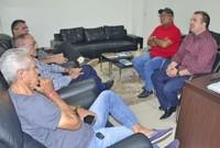 Presidente da CMM reúne com representantes do Bloco A Banda