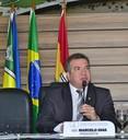 Presidente Marcelo Dias faz alusão ao Dia do Gari, durante sessão ordinária
