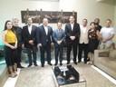 Presidente Marcelo Dias recebe diretor do Interlegis na CMM.