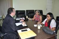 Presidente Marcelo Dias recebe lideranças da região da Pedreira.