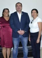 Presidente Marcelo Dias recebe representantes de técnicos em saúde bucal