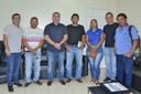 Presidente Marcelo Dias recebe sindicalistas rodoviários