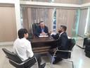 Presidente Marcelo Dias recebe visita de novos dirigentes da CEF no Amapá