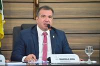 Presidente Marcelo Dias suspende sessão legislativa da CMM devido ao falecimento de uma servidora da Casa