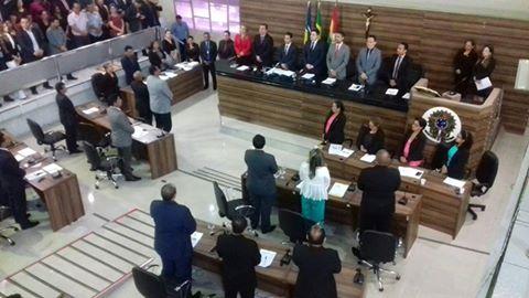 Primeira sessão ordinária da 12ª legislatura do parlamento macapaense