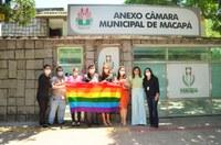 Procuradoria Especial da Mulher da CMM e Coordenadoria de Diversidade discutem política públicas para a população LGBTQIA+