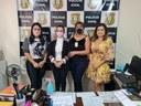 Procuradoria Especial da Mulher da CMM firma parceria com a Delegacia de Crimes Contra a Mulher