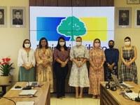 Procuradoria Especial da Mulher da CMM reúne com promotoras de justiça do Ministério Público do Amapá