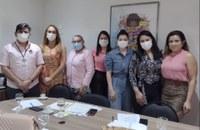 Procuradoria Especial da Mulher da CMM reúne com vereadoras do município de Santana