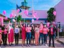 Procuradoria Especial da Mulher participa do lançamento da campanha Outubro Rosa do Ijoma
