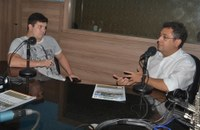 Rádio Câmara recebe a visita do prefeito de Macapá