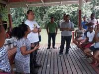 Rinaldo solicita da prefeitura manutenção dos balneários do Distrito do Maruanum