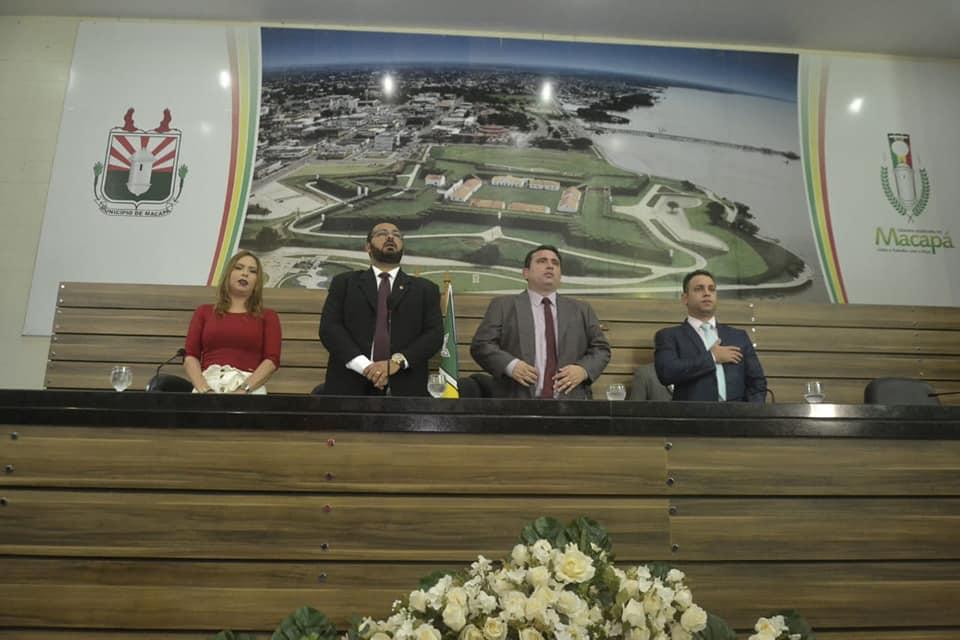 Ruzivan Pontes preside Reunião Solene em homenagem à Macapá