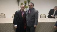 Ruzivan Pontes prestigia posse do novo presidente do Tribunal de Justiça