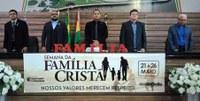 Semana da Família Cristã inicia com Reunião Solene na Câmara Municipal de Macapá