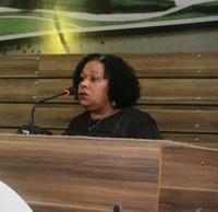 Tribuna da Câmara de Vereadores recebe representantes da comunidade.