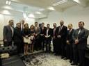 Vereador Acácio Favacho lidera comitiva em Brasília que articula modernização da Câmara Municipal de Macapá
