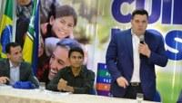 Vereador Acácio Favacho prestigia posse de Pedro Filé na Secretaria da Juventude
