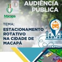 Vereador Acácio Favacho realiza audiência para debater estacionamento rotativo em Macapá