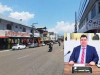 Vereador André Lima quer retorno dos ônibus na Rua Cândido Mendes, principal via do comércio de Macapá