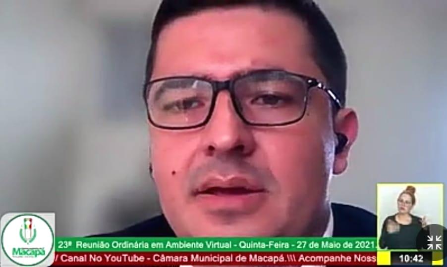 Vereador Bruno Santos intervém por serviços no Laguinho, Parque dos Buritis e Ipê
