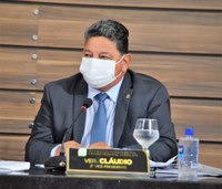 Vereador Cláudio busca apoio do senador Lucas Barreto para atender demandas da Fazendinha e FAF