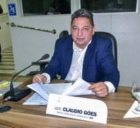 Vereador Cláudio Góes quer mais policiamento para os bairros Pedrinhas e Jardim Felicidade