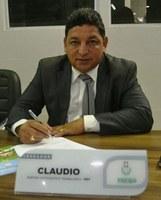 Vereador Cláudio propõe melhorias para os bairros Universidade, Buritizal, Novo Horizonte e Congós