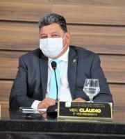 Vereador Cláudio solicita construção de escola de ensino fundamental no Bairro Vale Verde