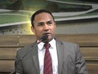 Vereador Didio agradece os votos recebidos durante 2ª sessão ordinária de 2017.
