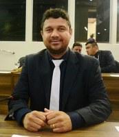 Vereador Diogo Senior é líder de bancada partidária no parlamento Municipal.