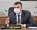 Vereador Dudu Barbosa pede a instalação de lixeiras no centro comercial de Macapá