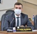 Vereador Dudu Barbosa propõe melhoria no descarte de lixo no residencial Jardim Açucena