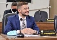 Vereador Dudu Barbosa teve quatro requerimentos aprovados durante sessão presencial desta terça-feira