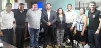 Vereador e moradores do Cidade Nova discutem mudança em sentido de via com a CTMac