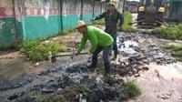 Vereador Grilo realiza mutirão de limpeza.