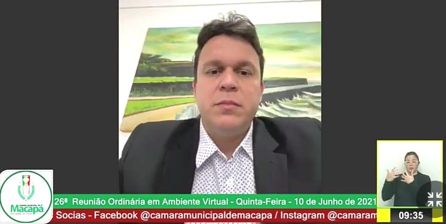 Vereador João Mendonça aponta a necessidade de reforma da passarela Sergipe, no Pacoval