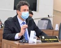 Vereador João Mendonça reivindica melhorias para a Rua Raimunda Rodrigues Capiberibe, no Novo Horizonte