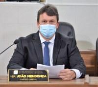 Vereador João Mendonça reivindica reativação de base da PM no Distrito do Coração