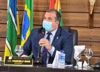 Vereador Marcelo Dias cobra melhorias de vias públicas no Centro, Marabaixo II e Novo Buritizal