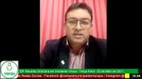 Vereador Paulo Nery quer asfaltamento de ruas no Marabaixo IV