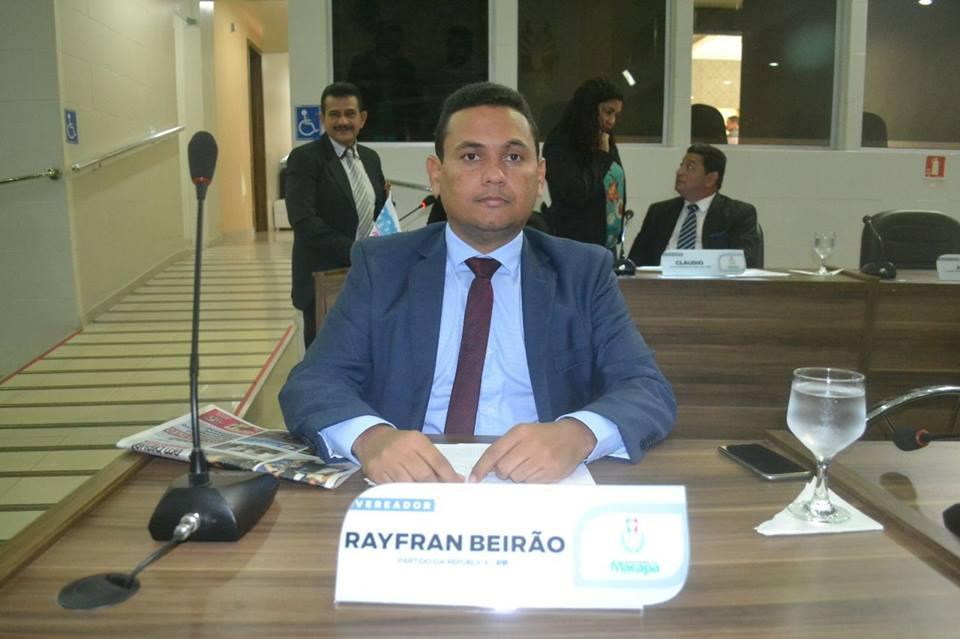 Vereador Rayfran Beirão defende investimento no esporte para o bairro Pacoval