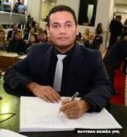 Vereador Rayfran Beirão pede instalação de semáforos em cruzamentos do Centro e Santa Rita