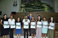 Vereador Rinaldo entrega títulos honoríficos a  Personalidades de Macapá.