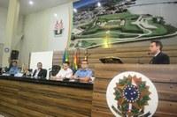 Vereador Yuri Pelaes preside audiência pública que debateu os direitos da Guarda Municipal.