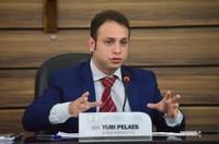 Vereador Yuri Pelaes quer apoio de deputados federais para construção de muro de arrimo