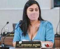 Vereadora Adrianna Ramos solicita melhorias para a cidade com sinalização e ampliação de linha de ônibus